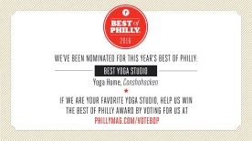 Vote Yoga Home for Best of Philly 2016