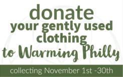 warming philly – november community initiative