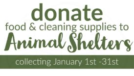 january community initiative: animal shelter collection