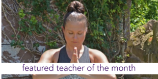 featured teacher of the month ~ kristin frederick