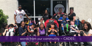 words from our community ~ CADES