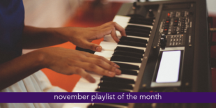november playlist of the month