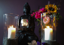yin by candlelight
